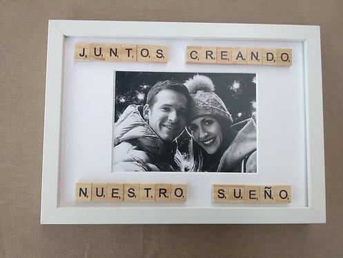 Marco rectangular foto