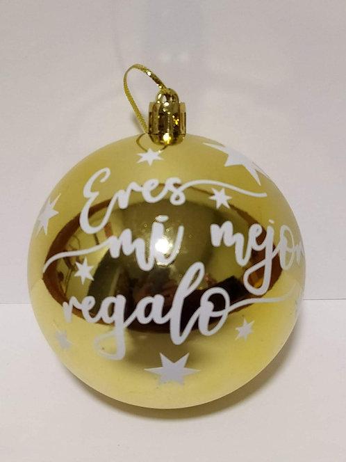 Bola de navidad personalizada (8cm)