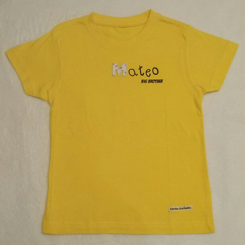 Camiseta extra (conjunto hermanos)