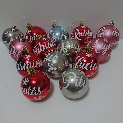 Pack de bolas de navidad CANTIDAD