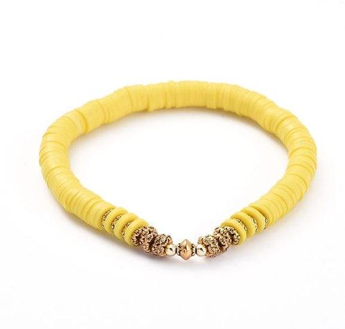Pulsera katsuki dorado-amarillo