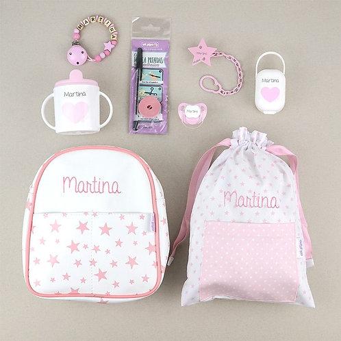 Pack el primero de la clase rosa