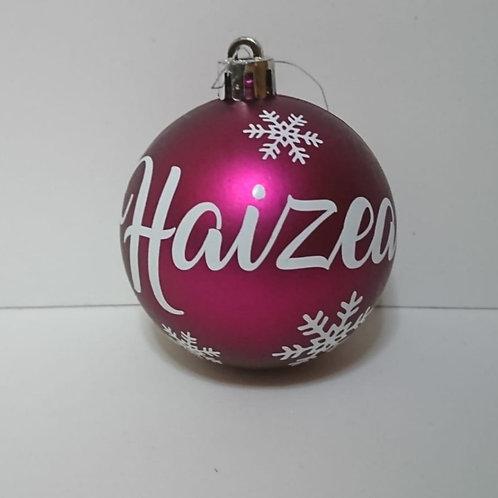 Bola de navidad personalizada (6cm)