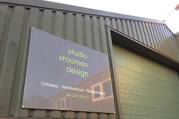 studio vroomen design, binnenhuisarchitectuur, meubelmakerij, vormgeving