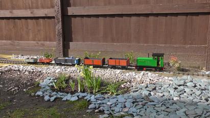 Day 4: Works train leaves Sefton