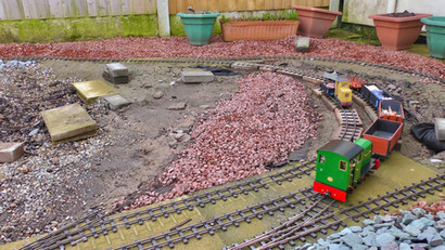 Day 4: Works train at Porthmelling