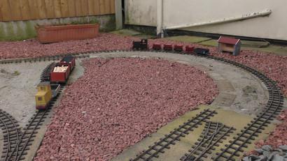 Day 1: Old trackwork removed