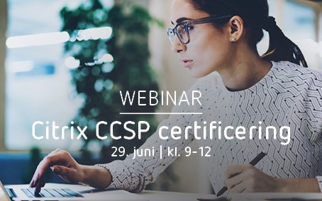Citrix CCSP certificering