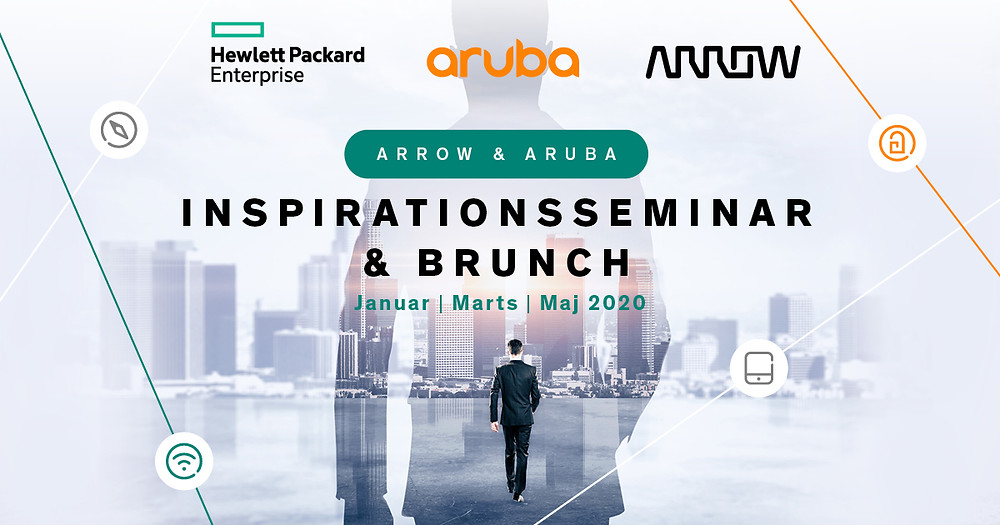 Arrow & Aruba inspirationsseminar & brunch