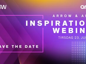 Invitation til Arrow Aruba Inspirations webinar - Tirsdag den 23. juni 2020