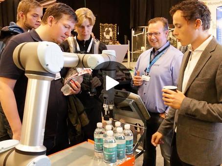 Robotservice nedbryder murene mellem produktion og forretning