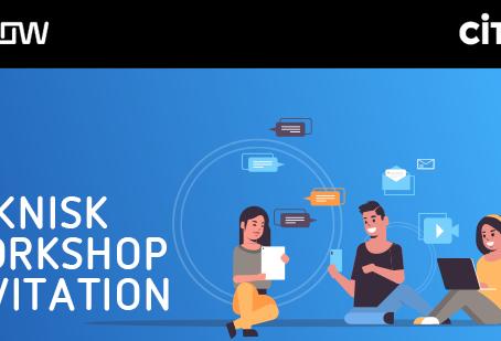 Teknisk workshop invitation