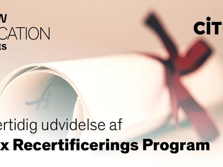 Midlertidig udvidelse af Citrix Recertificerings Program
