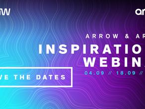 Save the date! Deltag på 3 x Arrow Aruba Inspirations webinarer – 04.09 | 18.09 | 02.10