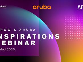Invitation til Arrow & Aruba Inspirations webinar - onsdag den 13. maj fra 9-11