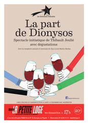 Dimanche 17h - La part de Dionysos - Thibault Joulié
