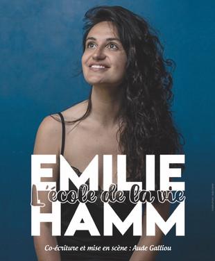 Samedi 26 Juin à 21h30 - Emilie Hamm - L'école de la vie