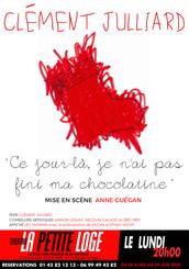 Lundi 20h (19h couvre-feu) - Clément Julliard - Ce jour-là je n'ai pas fini ma chocolatine