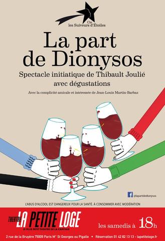 Samedi 18h - La part de Dionysos