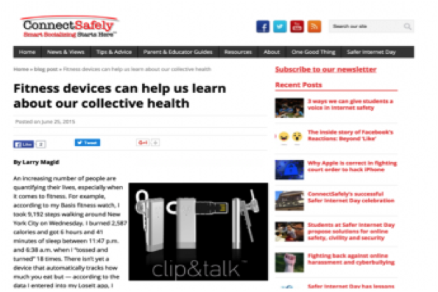 ConnectSafely | clip&talk