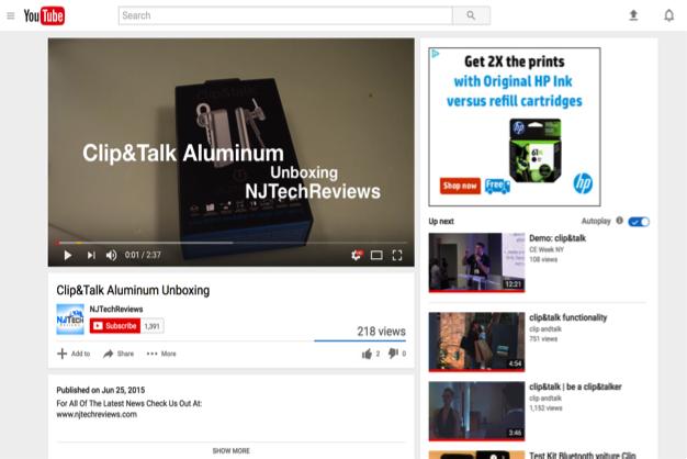 clip&talk Aluminum