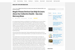 Mercury News: Fitness Devices