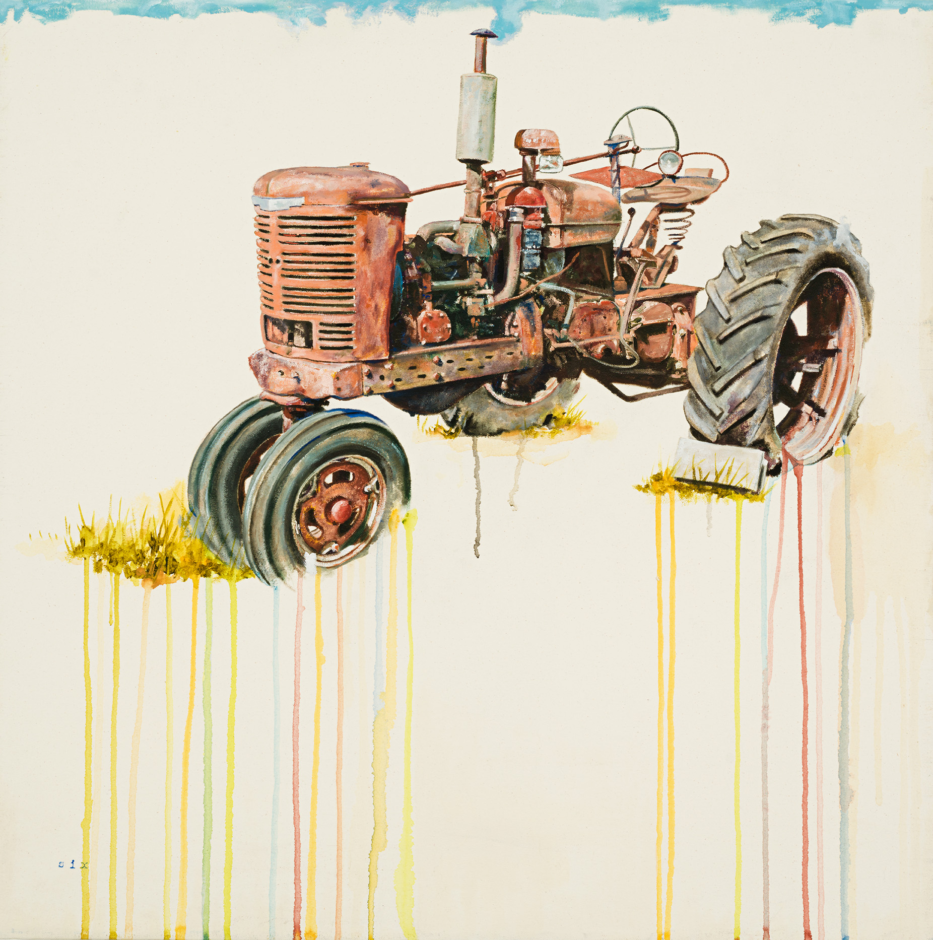 Red Tractor Study