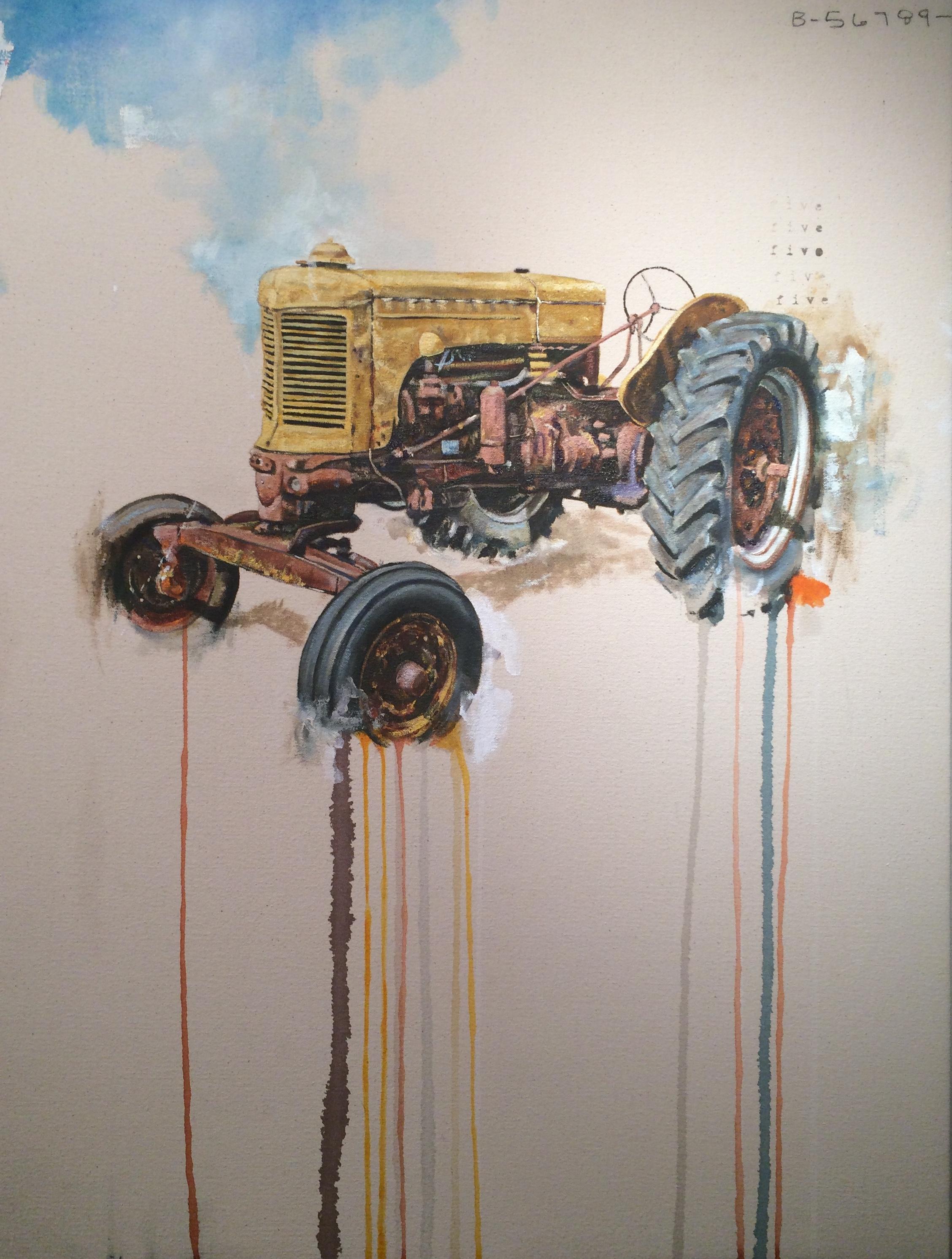 Yellow Tractor Study
