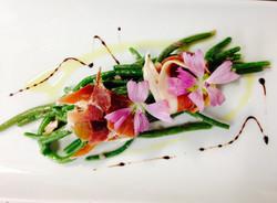 Saladine d'Haricots Verts et Jambon Fumé