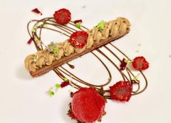 Feuillantine Framboise et Chocolat