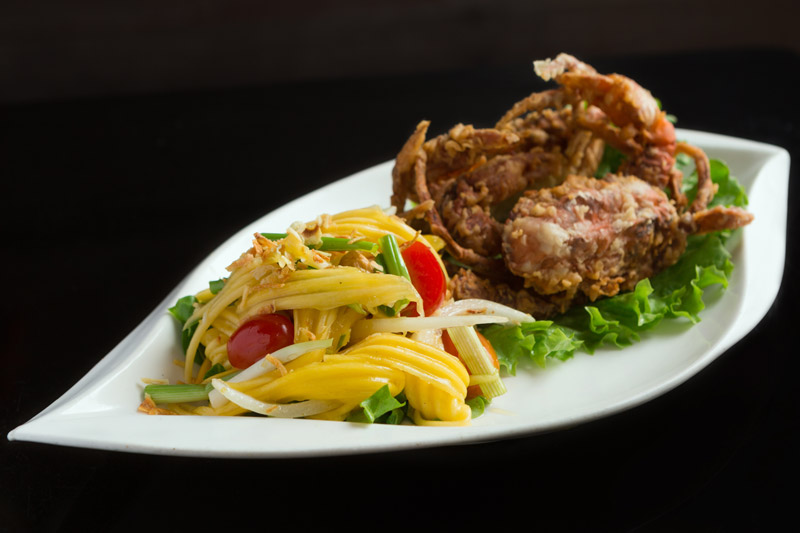 Soft Shell Crab with Mango Salad
