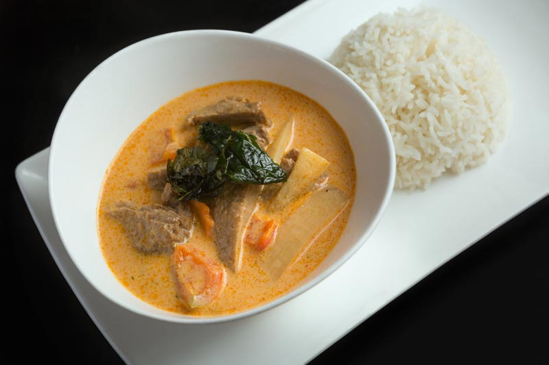 Vegetarian Duck Curry