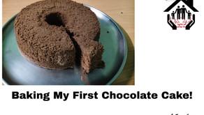 Baking My First Chocolate Cake!
