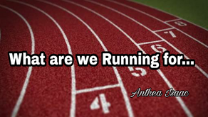 What are we running for…