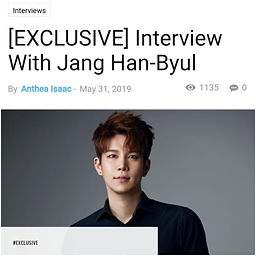 Interview with Jang Han-Byul