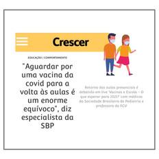 Live Revista Crescer
