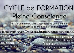 Cycle de Méditation de Pleine Conscience 8 semaines pour intégrer la méditation dans votre quotidien