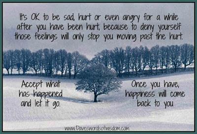 Acceptez vos émotions négatives, cela vous rendra vivant!