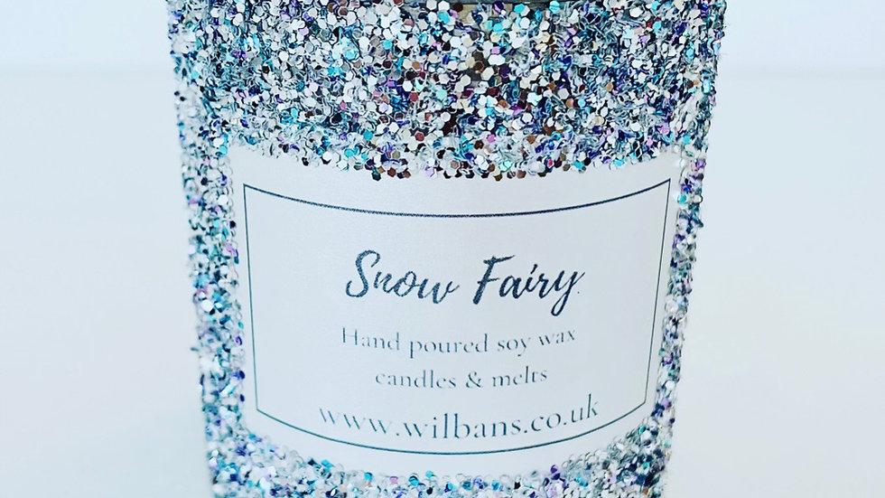 Snow Fairy Dust Glitz Candle