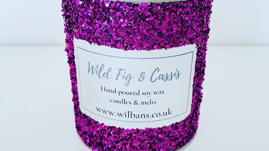 Wild Fig & Cassis Glitz Candle