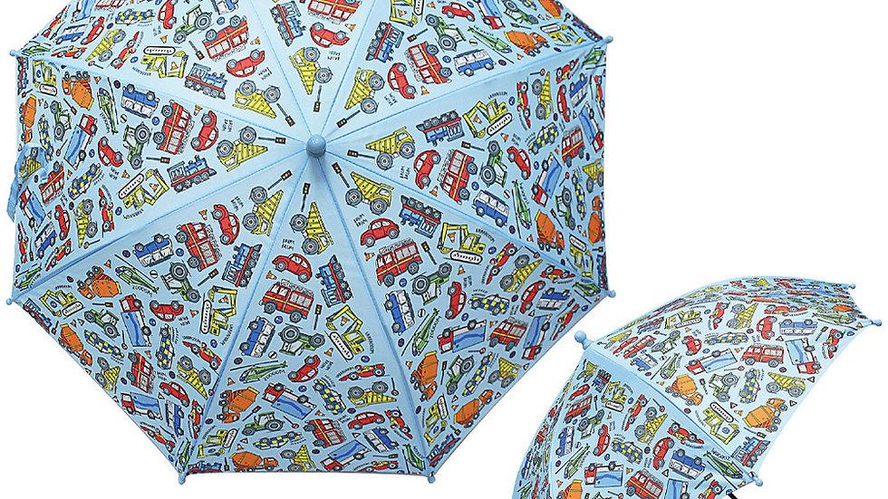 Little Stars Vehicle Children's Umbrella