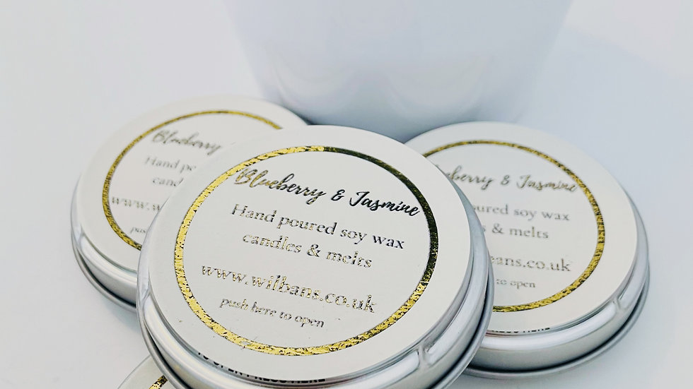 Blueberry & Jasmine Take a Moment Candle