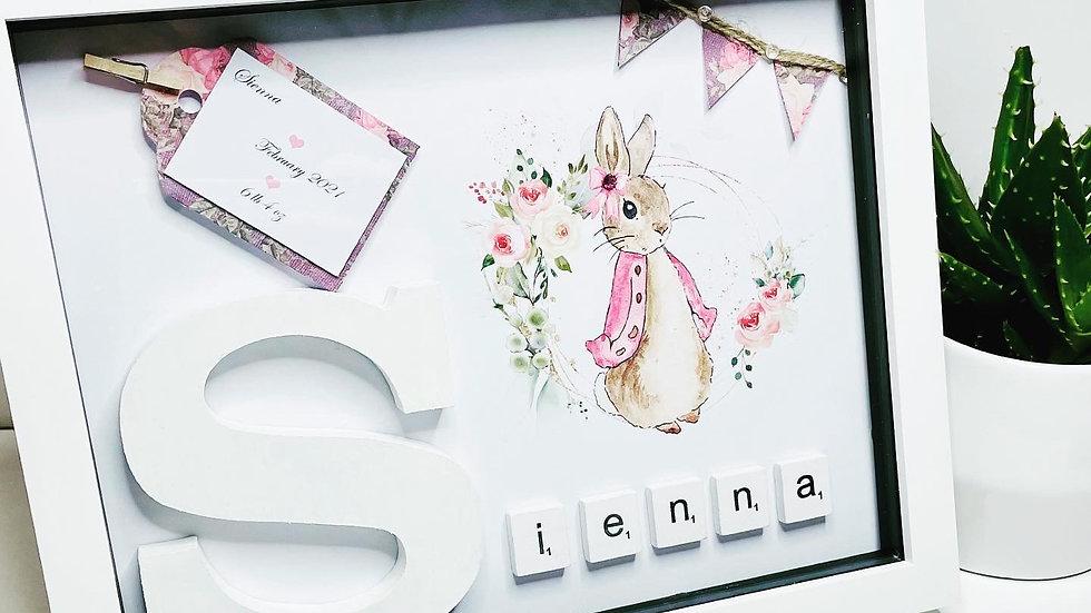 New Baby Frame 'Rabbit'