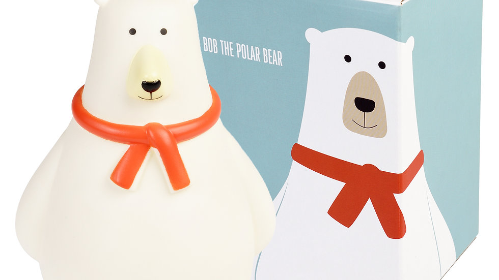 Bob The Polar Bear Money Box