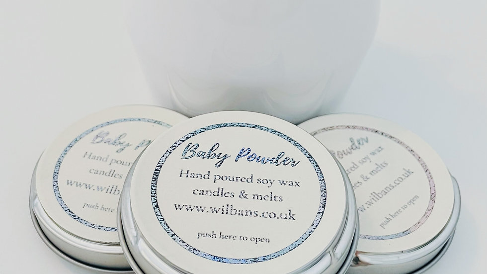 Baby Powder Take a Moment Candle