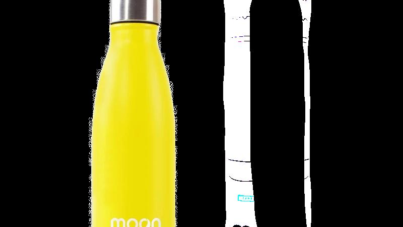 Mustard Yellow Moon Bottle