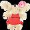Thumbnail: Daisy The Bunny Soft Toy