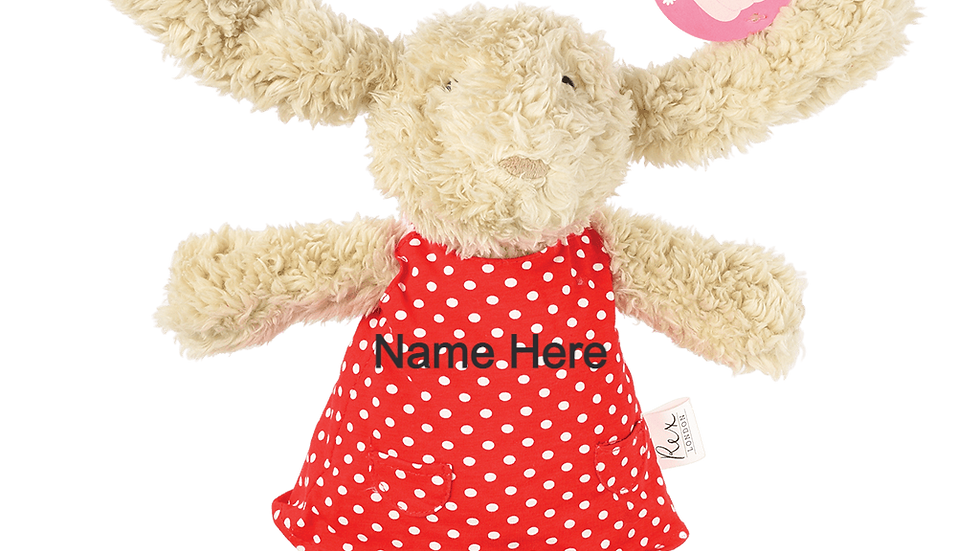 Personalised Daisy The Bunny Soft Toy
