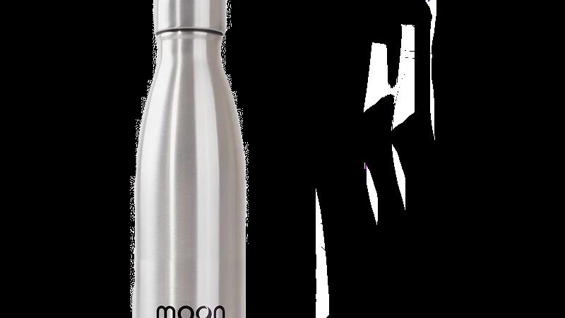 Personalised Silver Moon Bottle