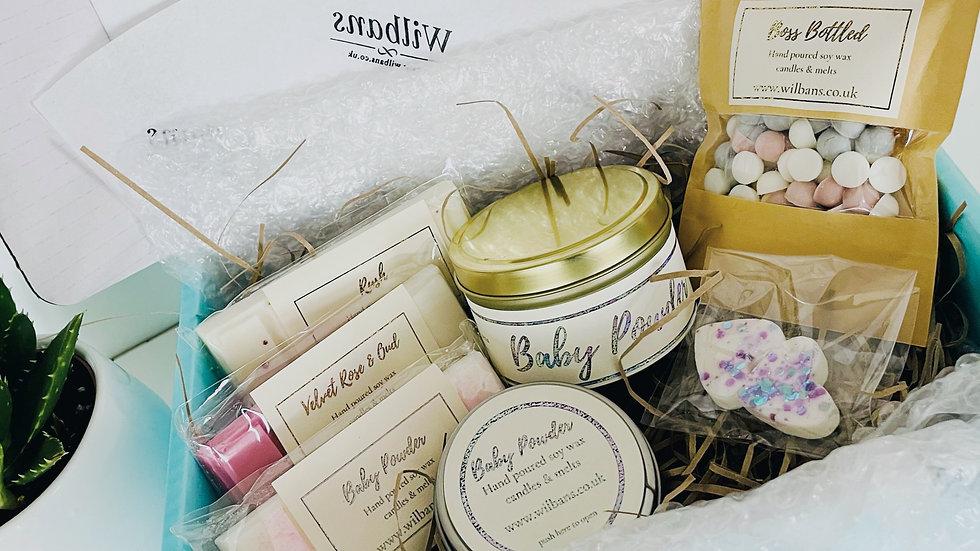 Tin Candle Gift Hamper